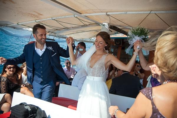 γαμος-βαρκα-νησακι