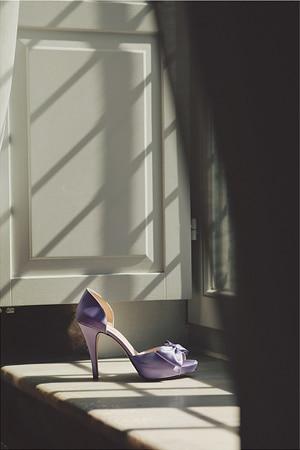 νυφικα παπουτσια με χρωμα