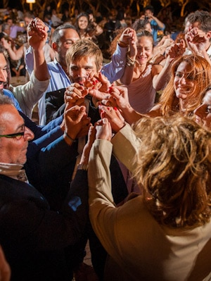 wedding reception ble azzure athens