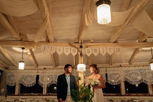 Φθινοπωρινός ρουστίκ γάμος στη Λευκάδα | Χάρις & Γιώργος