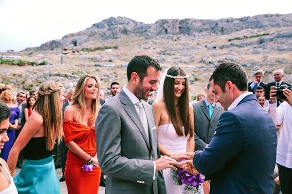 Ένας ρομαντικός γάμος στη Ρόδο | Αλεξία & Περικλής