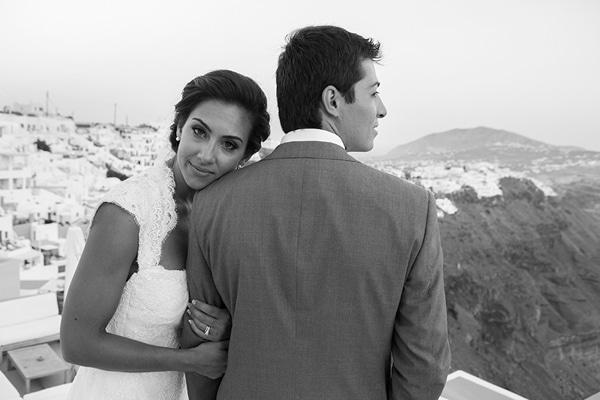 Ρομαντικός γάμος στη Σαντορίνη | Sarah Ann & George