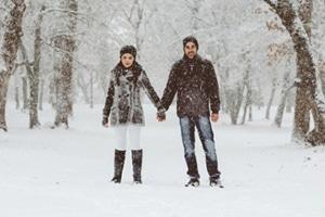 φωτογραφηση-χιονισμένο-δάσος