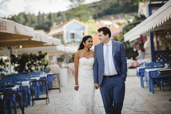 Elegant φθινοπωρινος γαμος σε νησι | Sadena & Νικος
