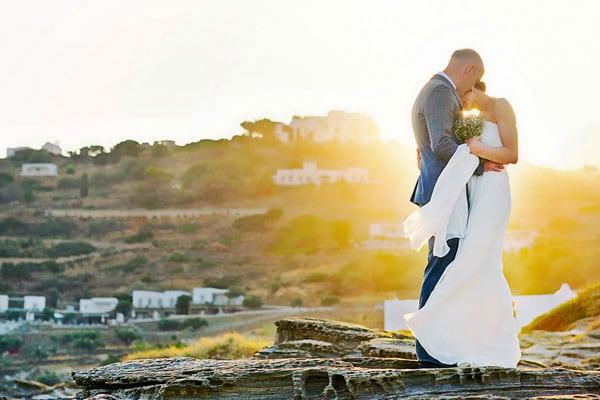 Ρομαντικος γαμος στη Σιφνο | Χρυση & Νιαλ