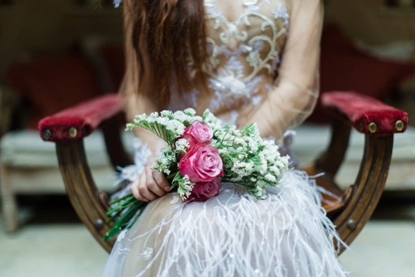 Gorgeous spring inspired bridal shoot at The Margi | L4W