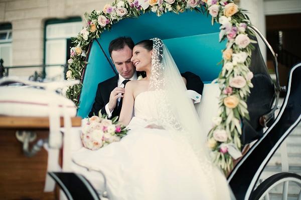 Elegant φθινοπωρινός γάμος στις Σπέτσες | Anthea & Marty