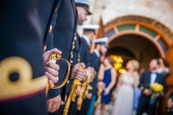 Ένας ρομαντικός στρατιωτικός γάμος | Φαίδρα & Ιωσήφ