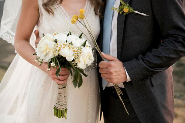 Ρουστίκ γάμος σε νησί | Ιωάννα & Ματτ