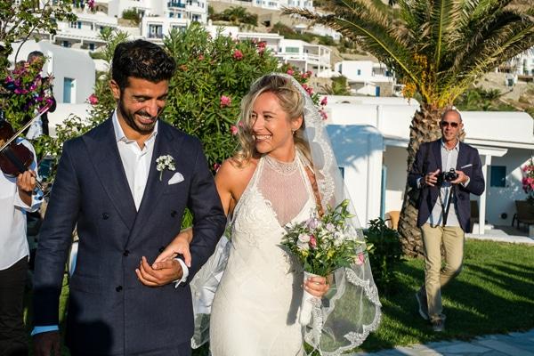 Ρομαντικος γαμος στη Μυκονο | Anna & Beppe