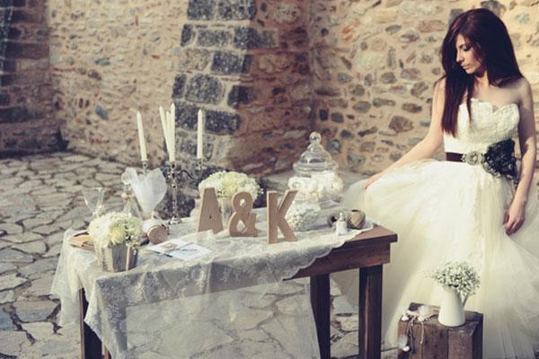 Ρουστικ διακοσμηση γαμου, ιδεες απο το Γυαλινο Γοβακι | Sponsored Post
