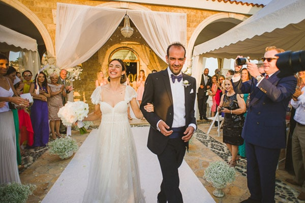 Elegant wedding in Cyprus |Elena & Roy