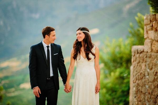 Ρομαντικος καλοκαιρινος γαμος σε βουνο | Αγαθη & Σιμων