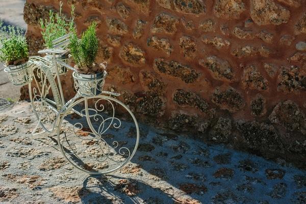 vintage-στολισμος-εκκλησιας-ποδηλατο