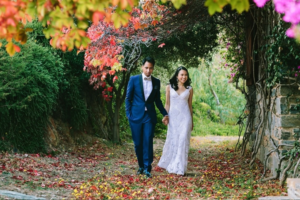 Φθινοπωρινος γαμος με ρουστικ λεπτομερειες | Grace & Ryan