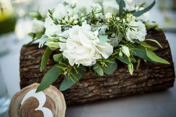 Ρουστικ διακοσμηση γαμου με δεντρολιβανο | RPS Events