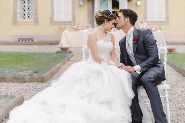 Φωτογραφηση με θεμα τον ανοιξιατικο γαμο στην Τοσκανη