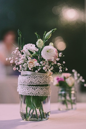 vintage-στυλ-διακοσμηση-γαμου