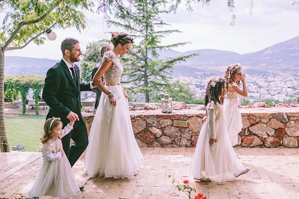 Ένας eco-friendly γάμος στην Αθήνα | Eleni & Spyros