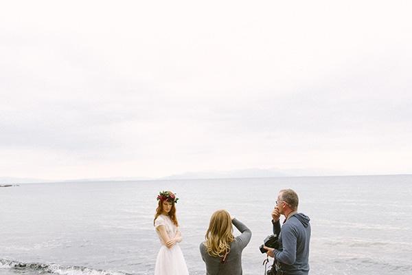 Dreamy-red-winter-bridal-shoot-beach-1