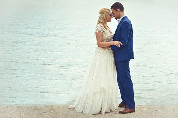 Ρομαντικός γάμος στη Αίγινα | Άση & Αλέξανδρος