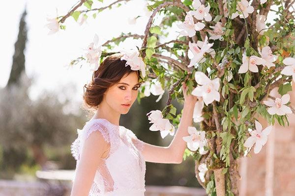 Elegant chic & botanical ιδεες γαμου | Φωτογραφηση στον Πυργο Πετρεζα