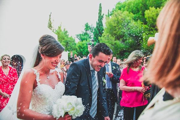 Elegant gold & mint γάμος στην Αθήνα | Φανή & Θάνος