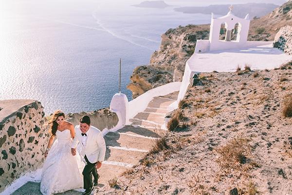 Elegant destination γάμος στη Σαντορίνη | Ανδριάνα & Άλεξ