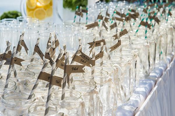 lemonade-jars-γαμος-σαντορινη-πρωτοτυπες-ιδεες