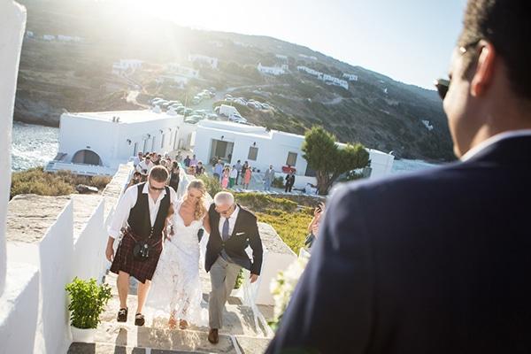 Γαμος στη Σιφνο με vintage πινελιες | Ελινα & Θανασης