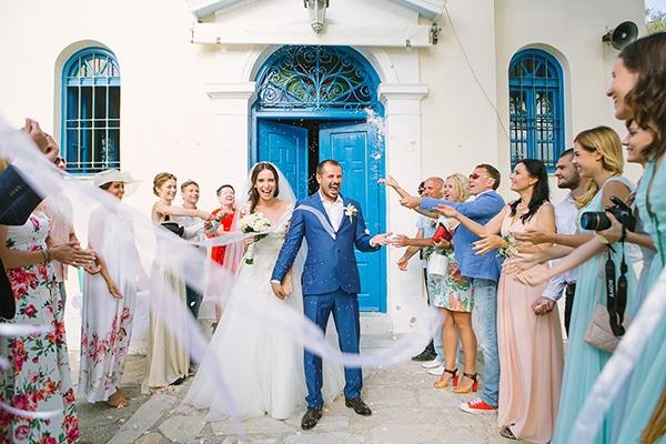 Καλοκαιρινός γάμος στην Κέα |Τζούλια & Ιγκορ