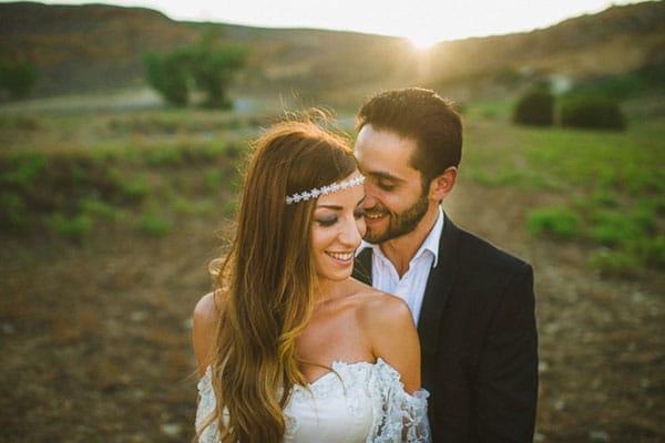 Μποεμ γαμος στην Κυπρο | Ευτυχια & Κωσταντινος