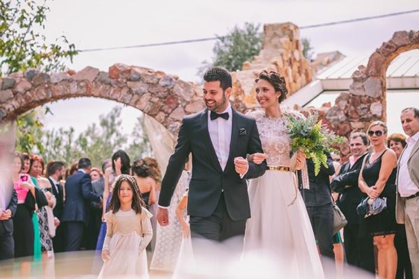 Stylish eco-friendly γαμος στο Λαας | Βιντεο