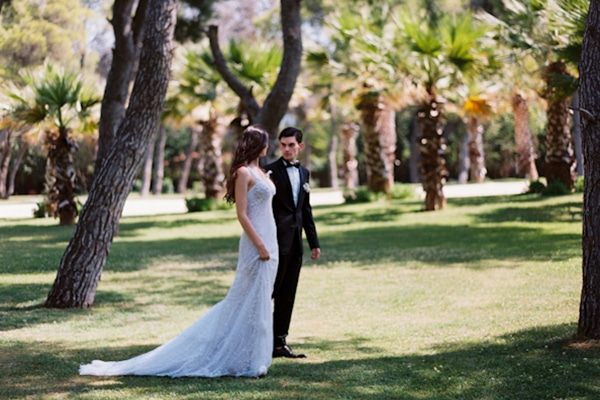 Elegant garden wedding inspiration