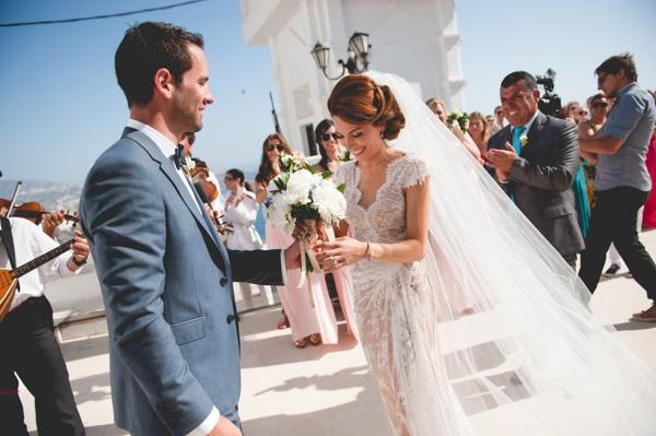 Καλοκαιρινός γάμος στη Σαντορίνη | Μαρία & Κωνσταντίνος
