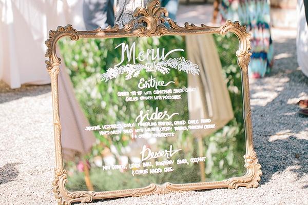 12 ιδεες διακοσμησης γαμου με καθρεφτες