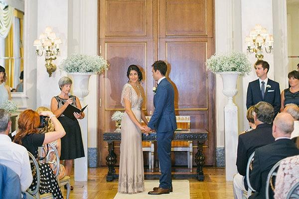 Vintage γάμος στο ξενοδοχείο Grande Bretagne | Lauren & Giles