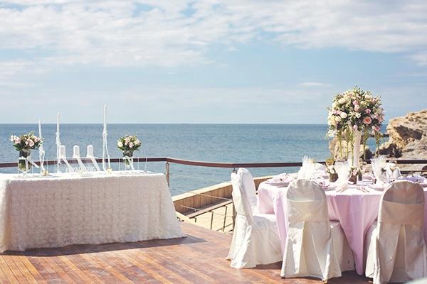 Ιδεες διακοσμησης για ρομαντικο γαμο με blush pink