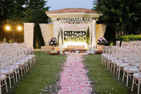 Γαμος στο κτημα Οριζοντες με αρωμα Ινδιας