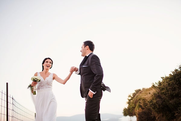 Φθινοπωρινος γαμος στην Ευβοια | Δημητρα & Σακης