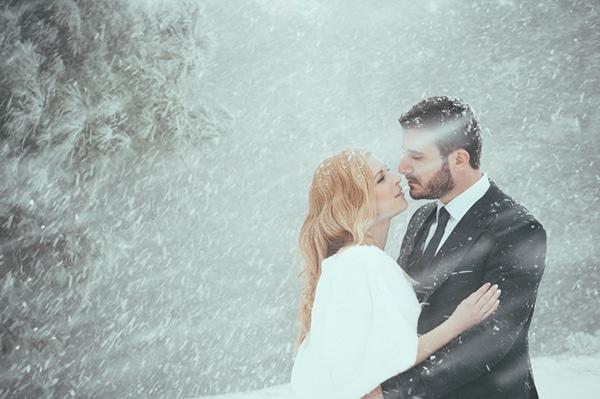 Φωτογράφηση επόμενης μέρας στα χιόνια | Βασιλική & Νίκος