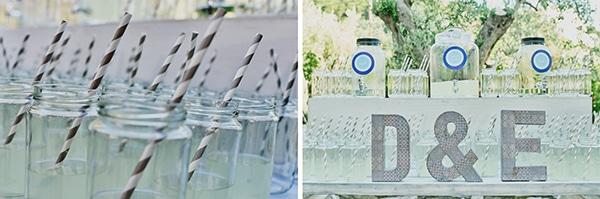 γαμος-refreshment-table