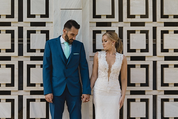 Elegant aqua and gold wedding|Maria & Yiannis