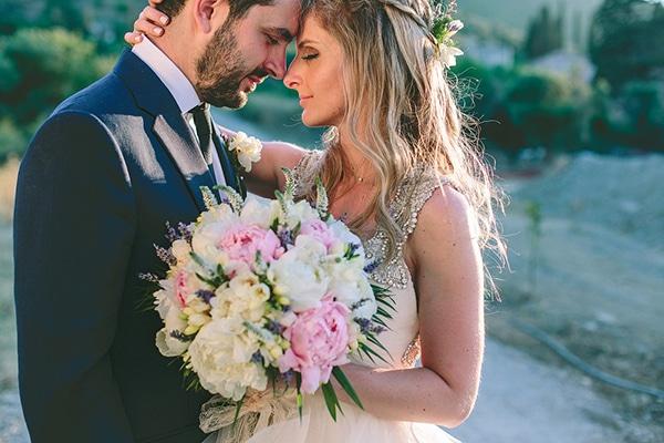 Ρομαντικός ρουστίκ γάμος στη Μονεμβασιά | Θεώνη & Γιώργος