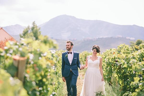 Ρομαντικός γάμος στο Κτήμα Κοκοτού | Χρύσα & Γιώργος