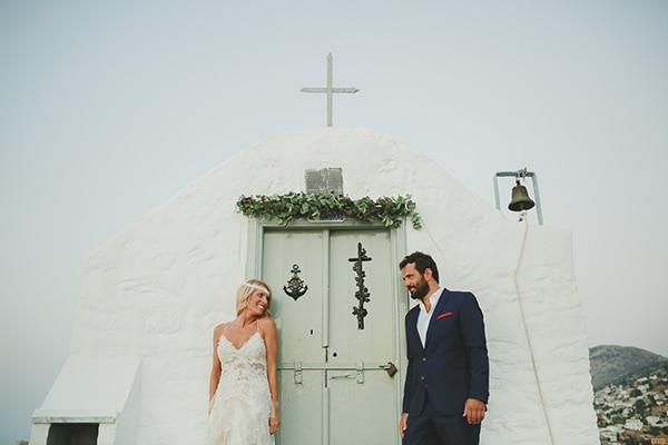 Ρουστικ γαμος στην Υδρα   Νια & Θοδωρης