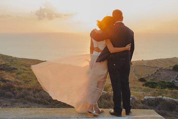 Ρουστίκ γάμος στη Φολέγανδρο | Κατερίνα & Παναγιώτης