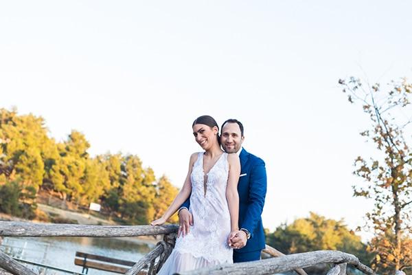 Ρομαντικος καλοκαιρινος γαμος σε ξωκλησι | Μαρθα & Νικος