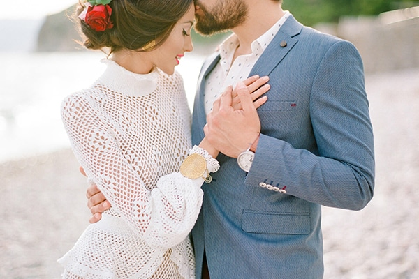 Boho Beach Wedding photo shoot