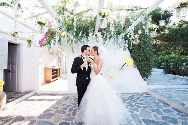 Elegant γάμος με κίτρινο χρώμα | Joana & Harald